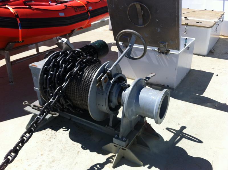 Maquinaria Chigre de Ancla CH-2019-E