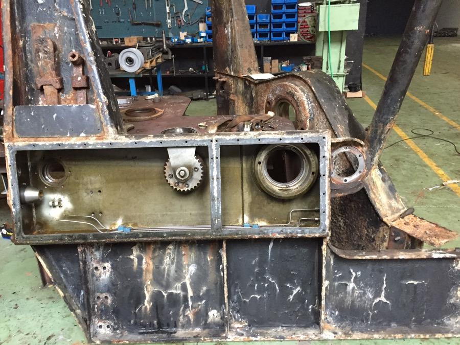 Reparacion integral de maquinilla de pesca