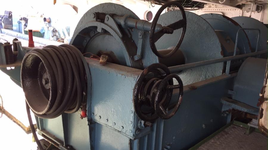 Reparación maquinilla de pesca